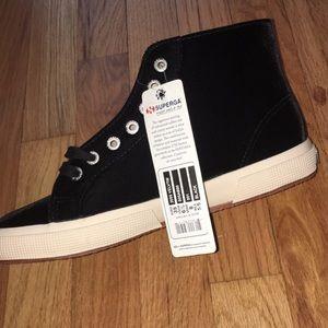 Superga Shoes - Velvet Hightop Sneaker